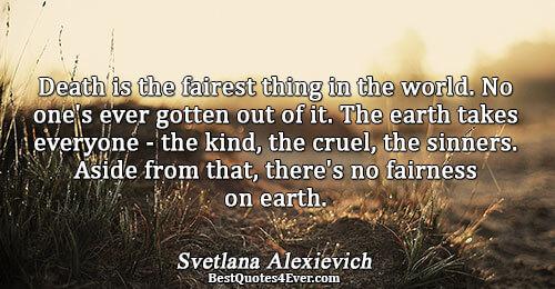 Svetlana Alexievich Quotes