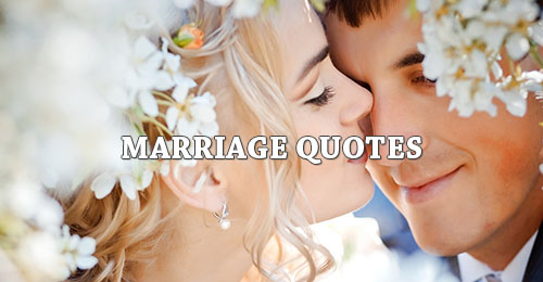 Marriage Picture Quotes