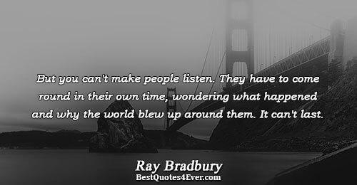ray bradbury biography