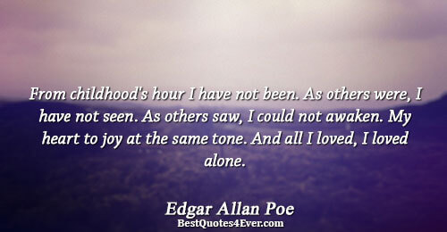 Edgar Allan Poe Quotes Best Quotes Ever Adorable Edgar Allan Poe Love Quotes